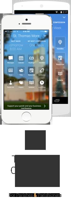 The Premium App For Catholic Churches